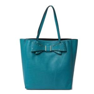 Betsey Johnson Teal Tote